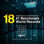 دستاوردی دیگر از سرورهای ایسوس، کسب ۱۸ رکورد پردازشی در کلاس جهانی