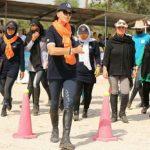 مسابقه سراسری پونی سواری جام کارآفرین برگزار شد