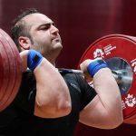 مربیگری بیمه رازی بر تن قهرمان جهان و المپیک