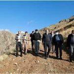 بازدید عضو شورای شهر تهران از حریم ۱۲۳ کیلومتری منطقه ۵