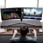 تجربه بینظیر بازی در C49HG90 سامسونگ، بزرگترین مانیتور جهان  صحنه وسیعتر برای هیجان بیشتر