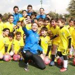 اولین کمپ استعدادیابی ایرانسل، لالیگا برگزار شد