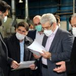 بازدید دکتر ستاری از شرکت دانش بنیان ایران دلکو