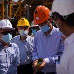 تاکید ربیعی بر تسریع در انجام طرحهای گروه صنایع پتروشیمی خلیج فارس در عسلویه