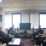 نشست مدیران شرکت عمران امیرکبیر، شرکت سرمایه گذاری مسکن الوند و بانک مسکن استان مرکزی
